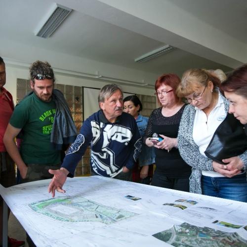 Revitalizace Pustkoveckého údolí a komunitní centrum Všichni spolu - veřejné setkání