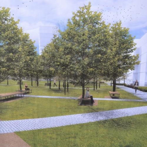 Představení návrhu na revitalizaci náměstí Družby