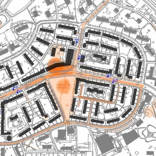 Náměstí Družby -  vyhodnocení dotazníků