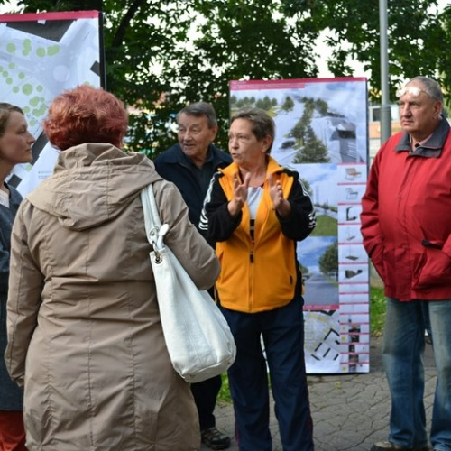 Náměstí Družby - veřejné představení návrhů