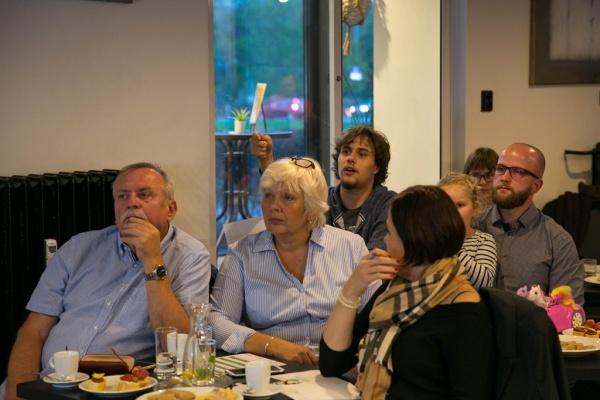 Představení návrhů projektu Zelená Porubě v Kafe Palača. Foto: Jiří Birke