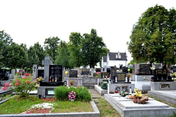 Současná podoba hřbitova