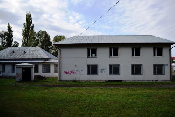 Azylové zařízení před rekonstrukcí