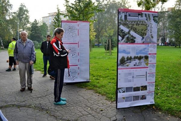 Veřejné představení návrhů na úpravy náměstí Družby