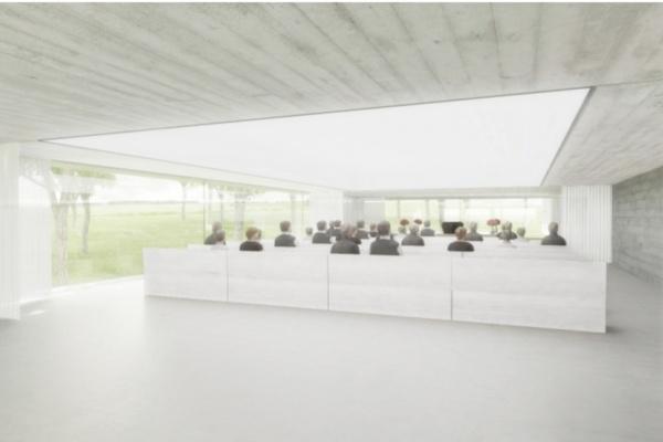 Vizualizace návrhu ateliéru Ivan Kroupa Architekti