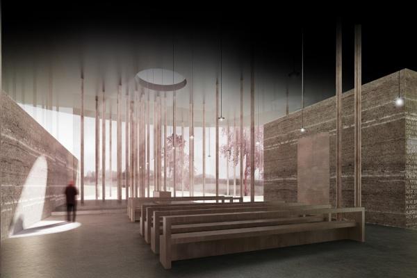 Vizualizace vítězného návrhu ateliéru PROJEKTSTUDIO CZ EU