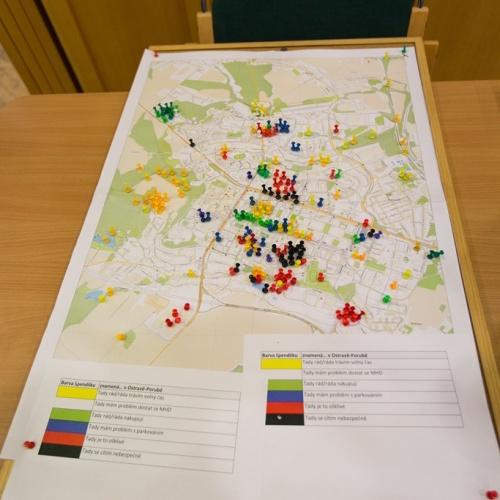 Pocitové mapy ukázaly, jak lidé vnímají Porubu