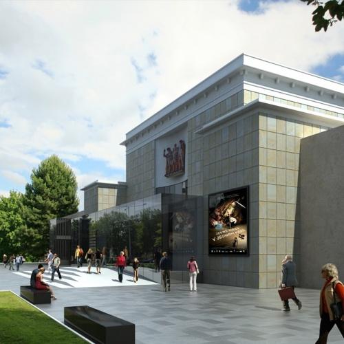 Rekonstrukce Domu kultury Poklad pokračuje