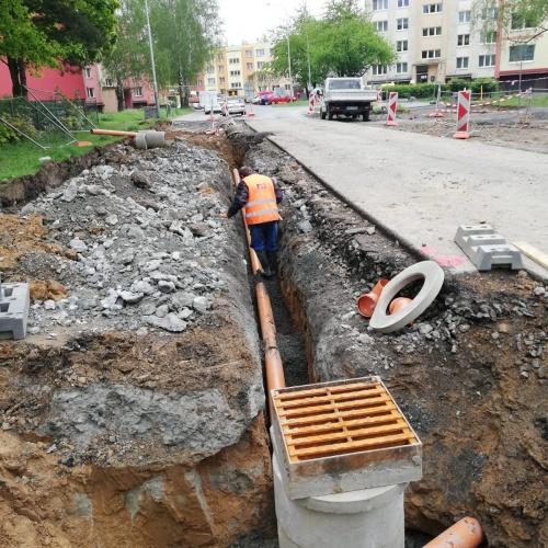Rekonstrukce ulice Otakara Jeremiáše vstoupila do třetí etapy