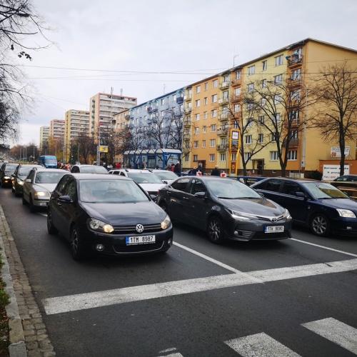 """Opavská ulice v Ostravě už """"jezdí"""" v obou pruzích. O měsíc dříve, než se plánovalo"""