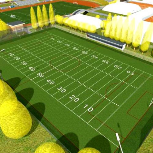 Rekonstrukce Sportovního areálu Poruba byla zahájena