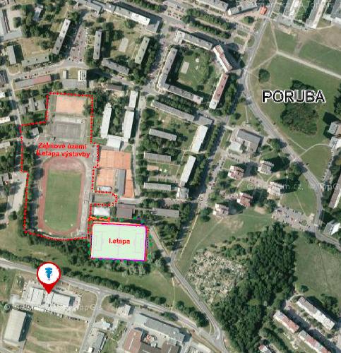 Modernizace sportovního areálu Poruba